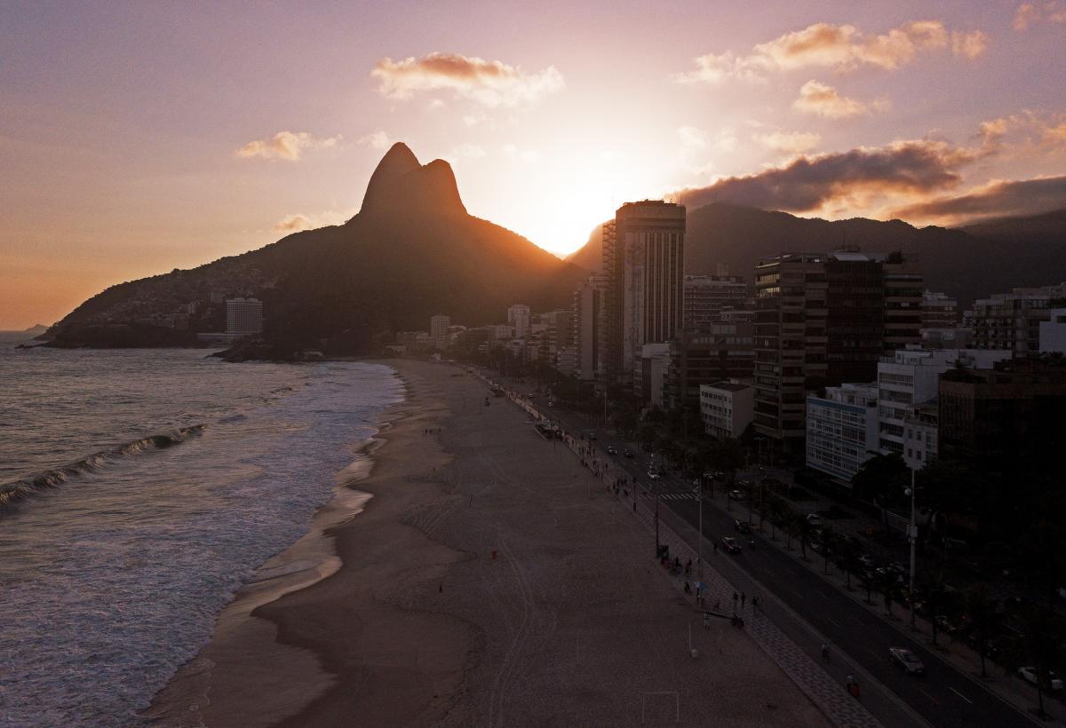 """Rio de Janeiro's famed (and usually packed) beaches have been closed as the city's mayor warned of a """"very critical"""" situation."""