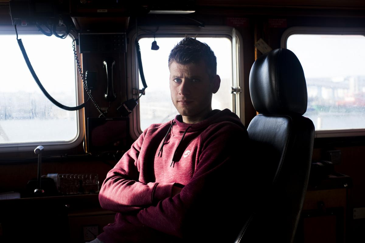 Mathieu Pinto, captain of the fishing boat L'Ophelea, says he needs to fish and will put up a fight if he is barred from British waters.