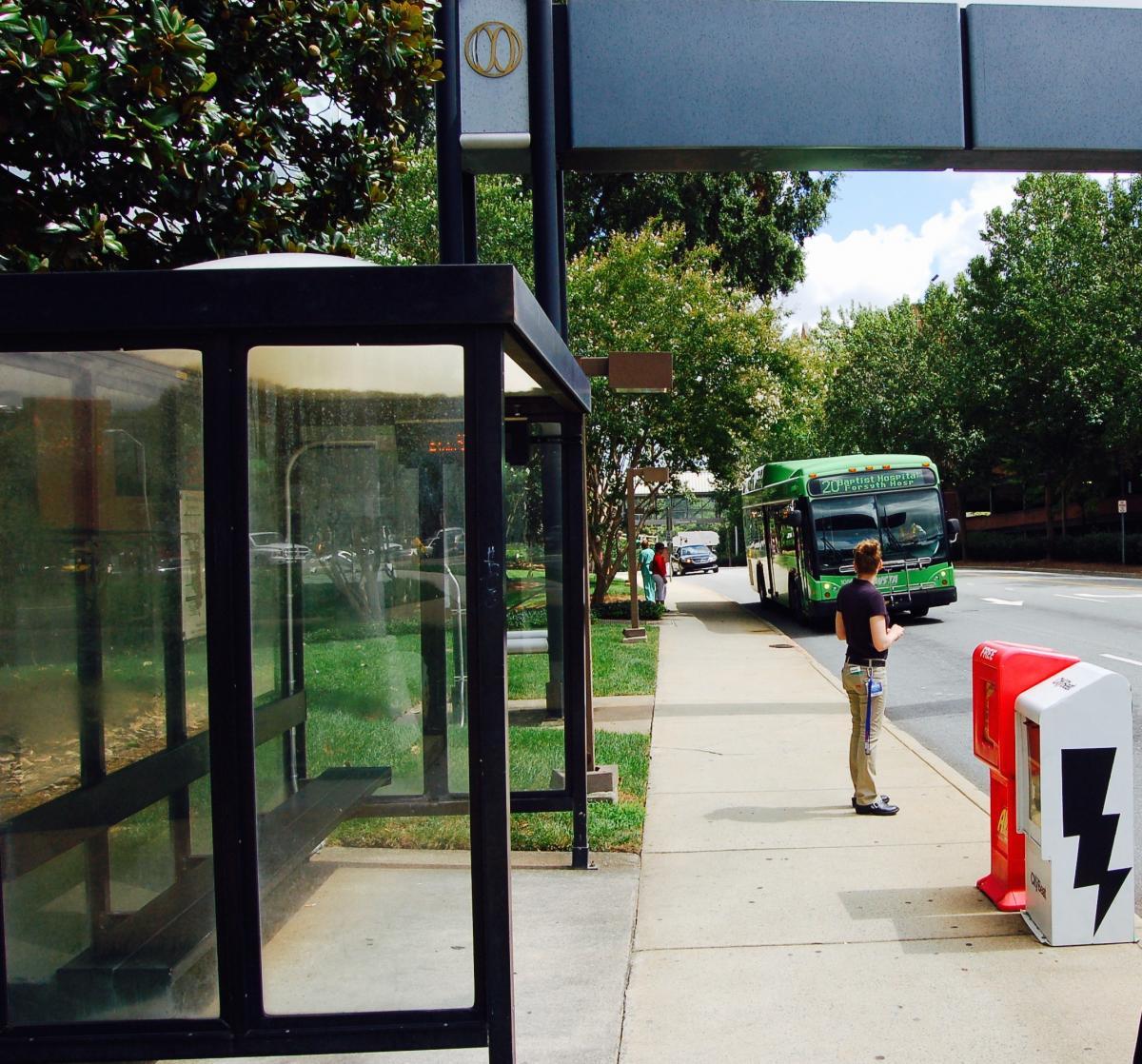 Home Organization Winston Salem: Changing The Way We Wait At Winston-Salem's Bus Stops