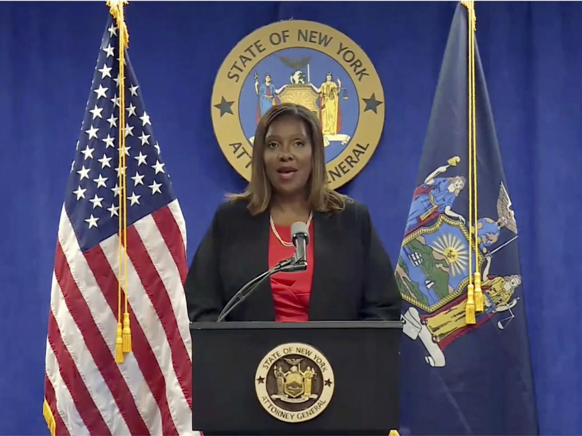 New York State Attorney General Letitia James announced that an investigation into New York Gov. Andrew Cuomo found that he sexually harassed multiple current and former state government employees.