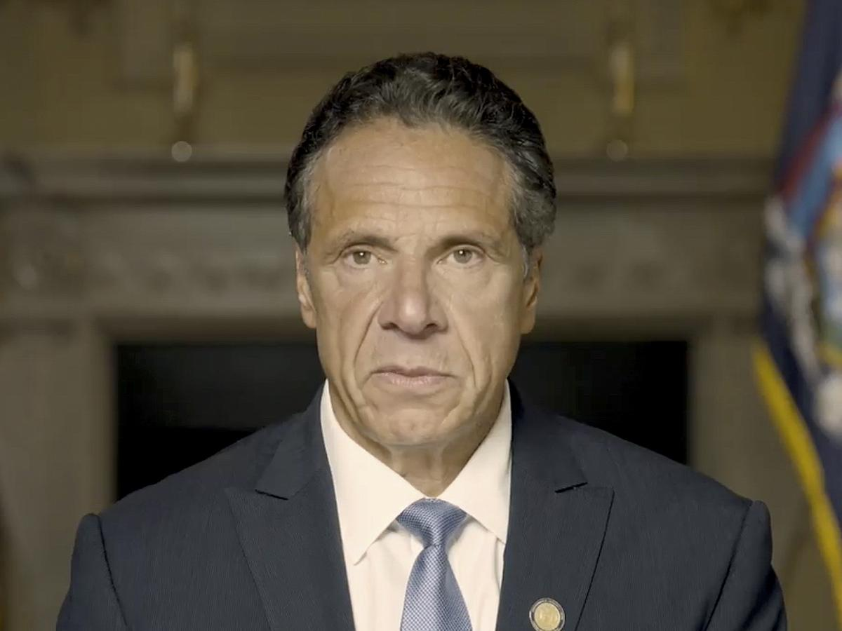 In a recorded video message, New York Governor Andrew Cuomo responded to allegations of sexual harassment contained in the Attorney General's investigation. Cuomo denies all wrongdoing.