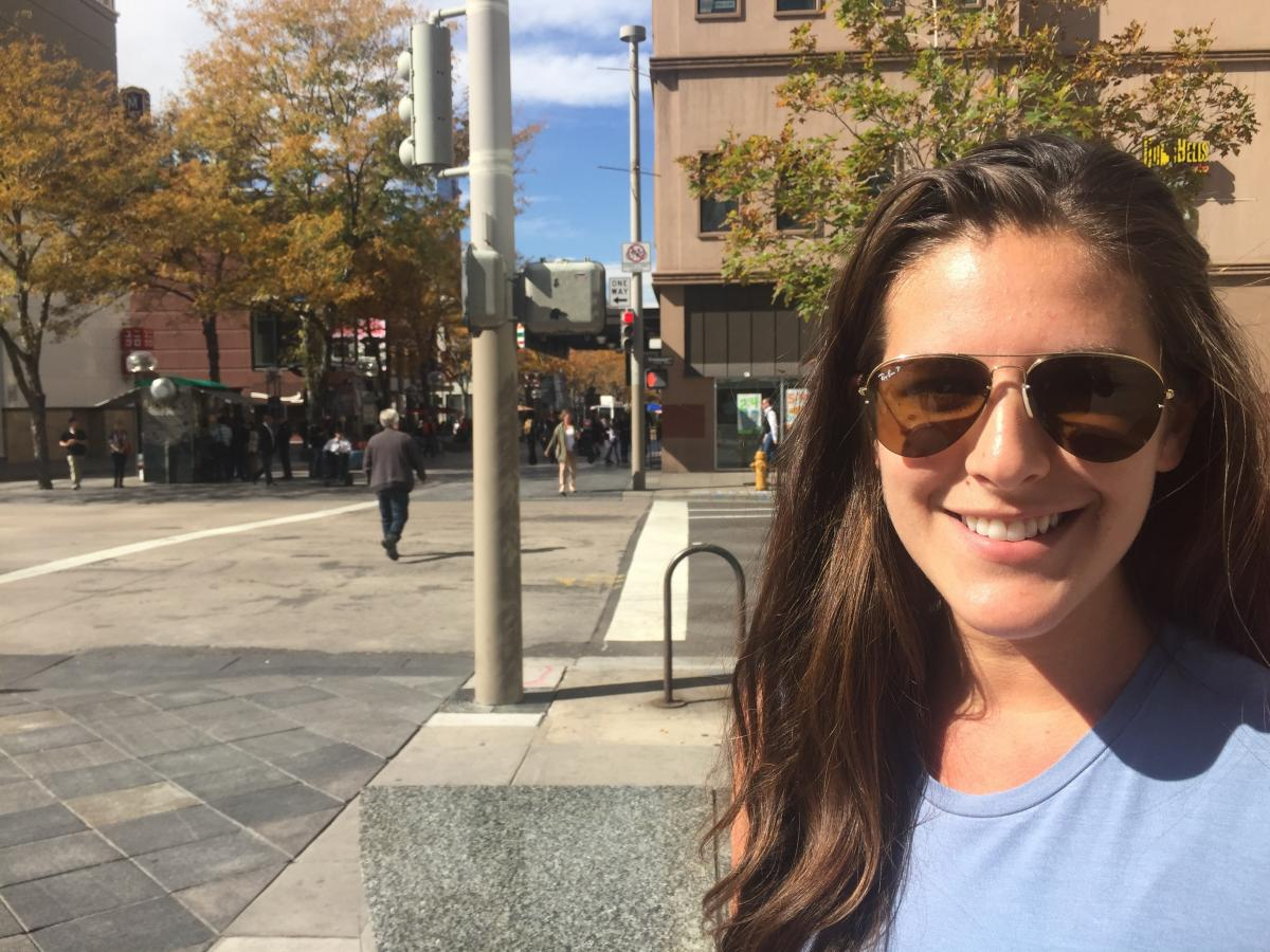 Abigail Scott, 25, moved to Denver two years ago from Florida, drawn by the outdoor opportunities and good weather.