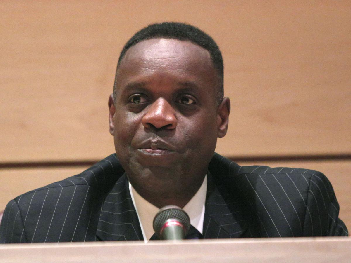Kevyn Orr, Detroit's emergency manager, holds his first public meeting since being appointed by the governor on June 10.