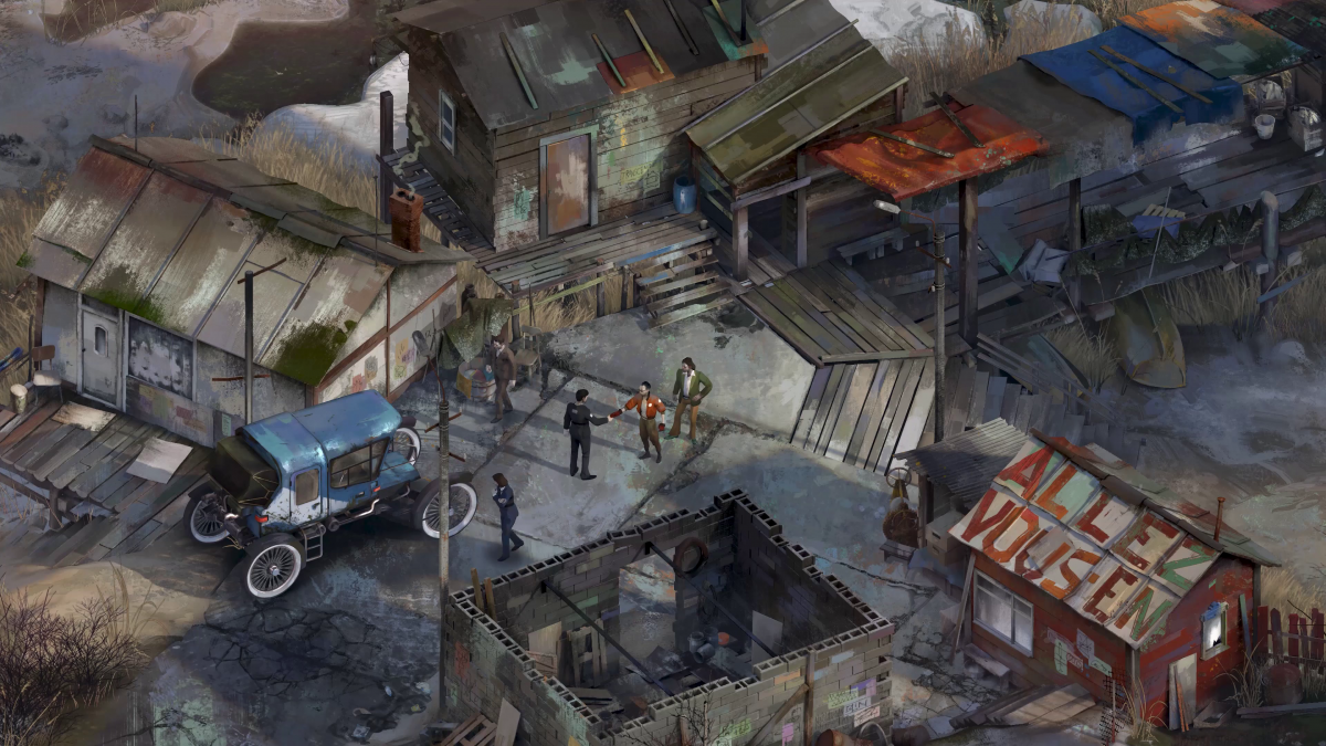 In Disco Elysium, outcomes of your interactions are based on Dungeons & Dragons-style dice rolls