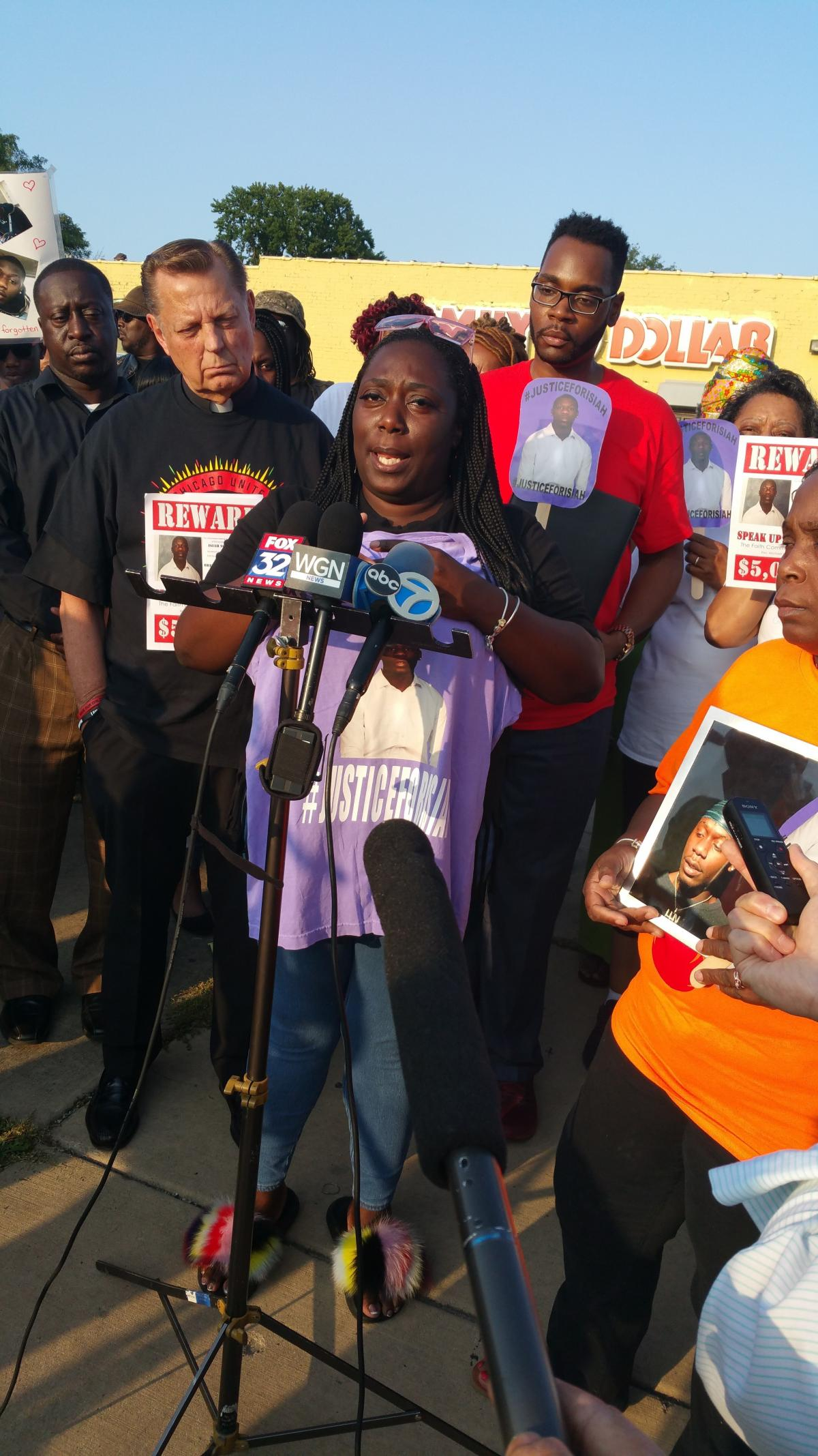 Keisha Stansberry's son Isiah Scott was fatally shot in March. Stansberry is offering a $5,000 reward for information leading to the shooter's arrest.