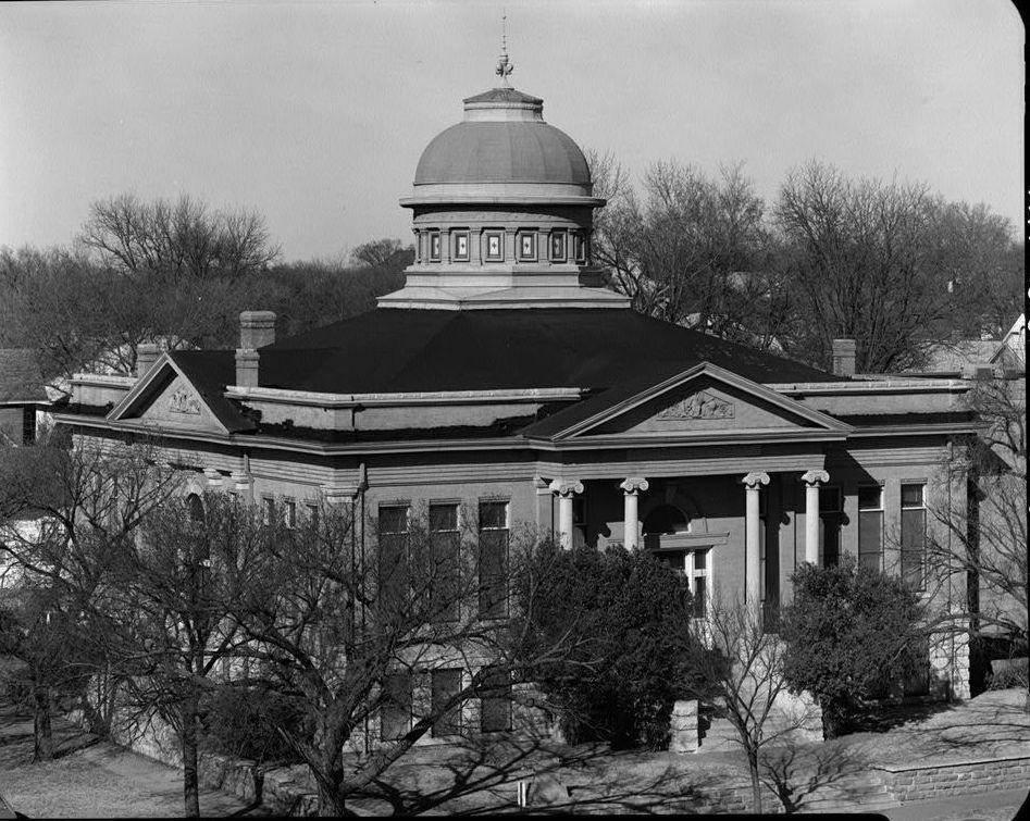 Carnegie Public Library in Guthrie, Okla.