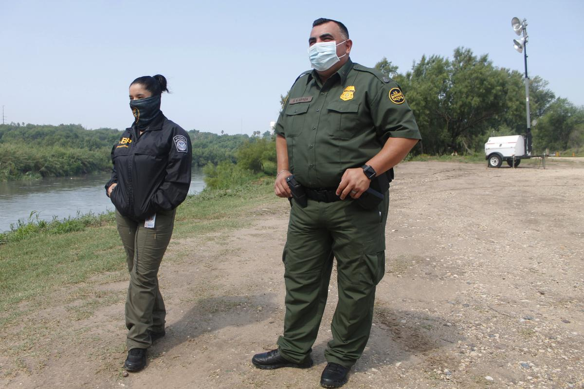"""Border Patrol agent Rafael Garza says an order from the Centers for Disease Control and Prevention that closed the border to migrants and other travelers without valid travel documents, citing """"the danger to the public health,"""" is working. """"It is a good t"""