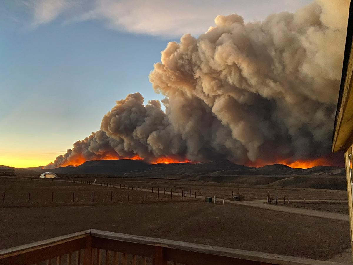 In Colorado, three of the state's five largest wildfires have burned this year, including this still-burning East Troublesome blaze.