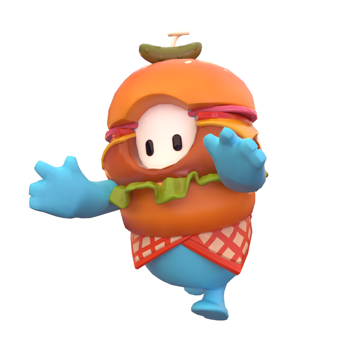 This hamburger costume was worth the five real-life dollars.
