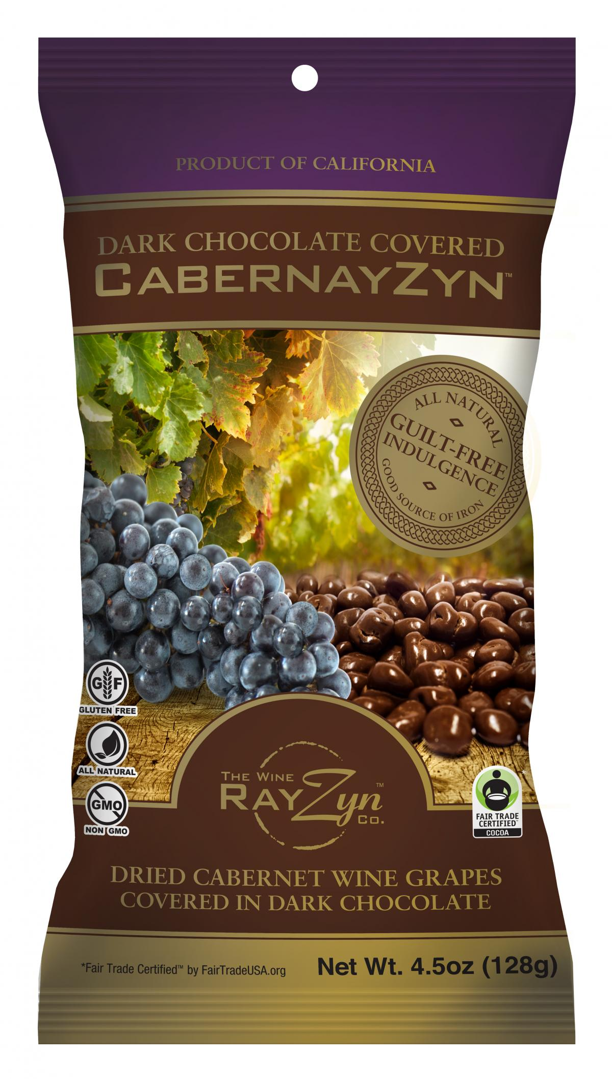 The Cates family created RayZyns in a bid to reduce food waste on their vineyard by using leftover grapes to make raisins.