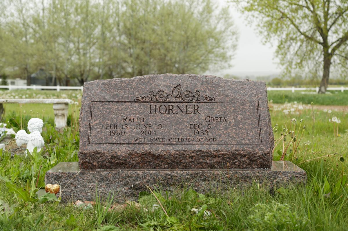 """Ralph """"Ed"""" Horner is buried a short drive from his rural Larimer County home."""