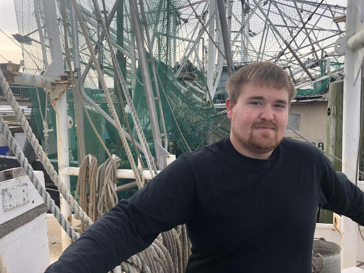 Twenty-nine-year-old Christopher Rhodes is a third-generation fisherman but doesn't think he can stay in the business.
