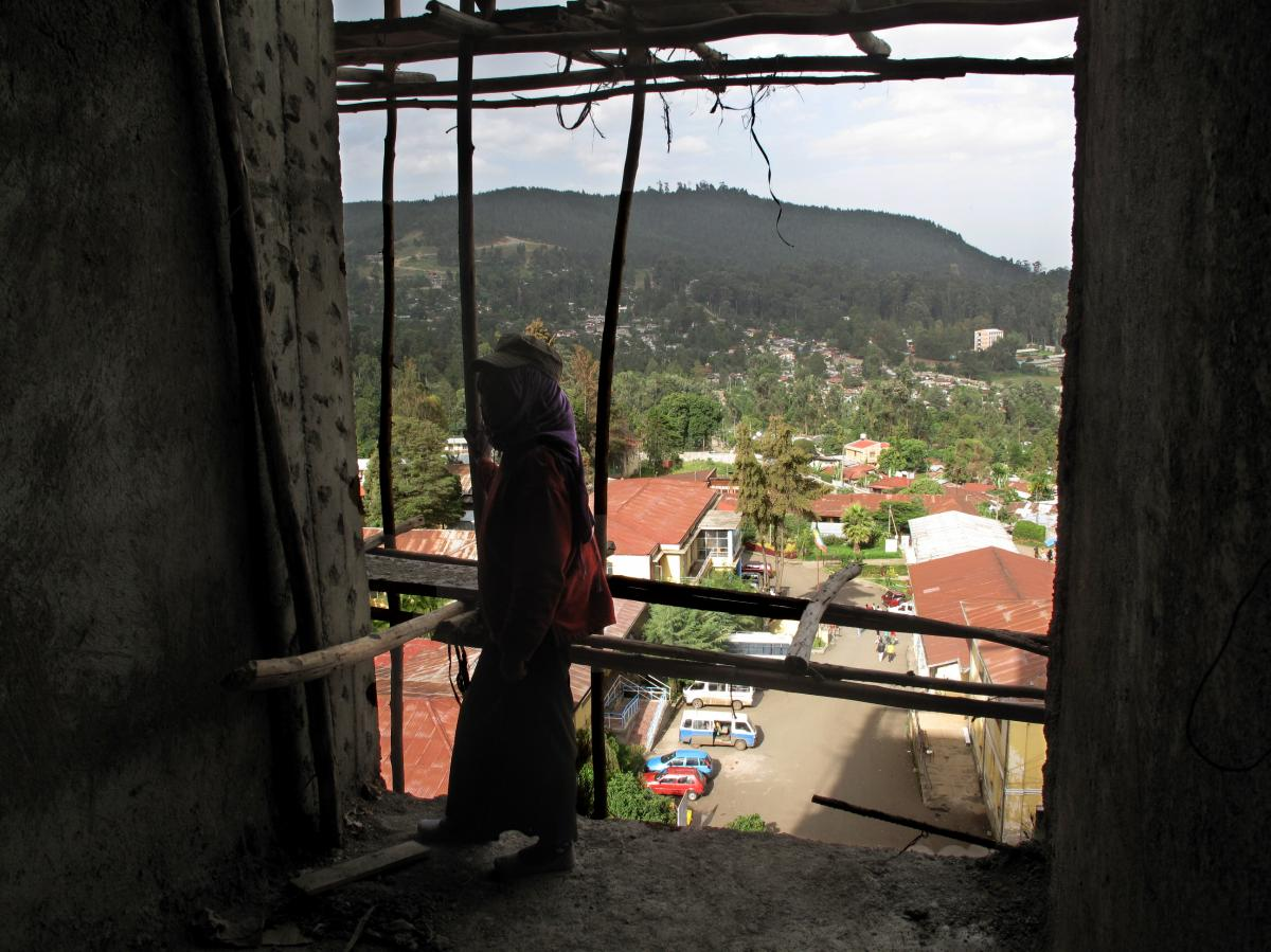 Demand for construction labor in the Ethiopian capital has drawn women into an industry typically dominated by men.