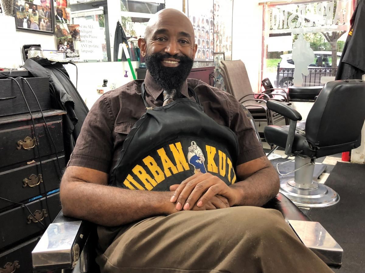 Waverly Willis is the first barber in Cleveland to accept Bitcoin as payment, and an early backer of the Blockland project.