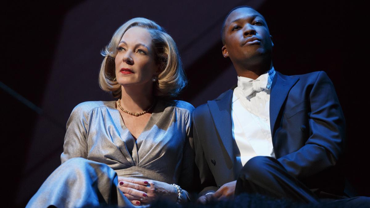 Hawkins stars alongside Allison Janney in John Guare's Six Degrees of Separation.