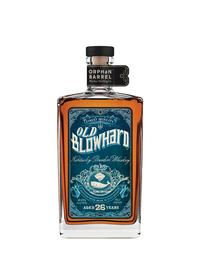 At first blush, the label for this bottle of limited-edition Old Blowhard seems to suggest the brand is old, but it actually debuted in 2014. From The Art of American Whiskey by Noah Rothbaum.