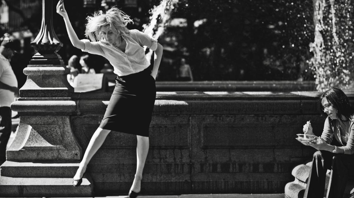In Frances Ha, Greta Gerwig stars as a young dancer trying to find her way on her own in New York City.