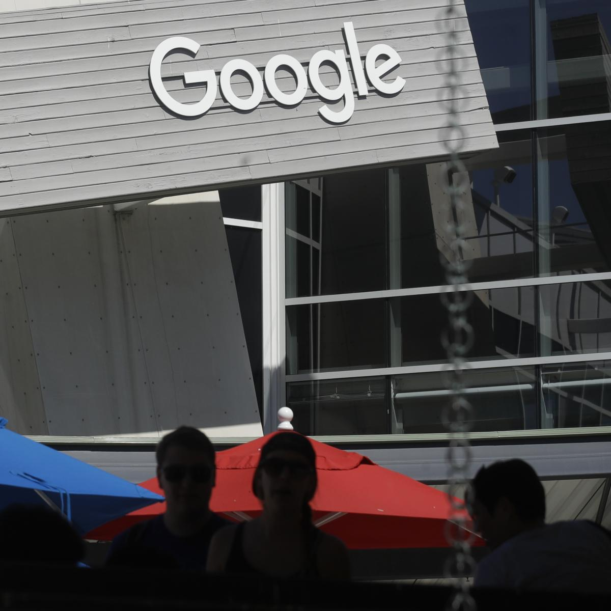 A Google sign at its Mountain View, Calif., campus.