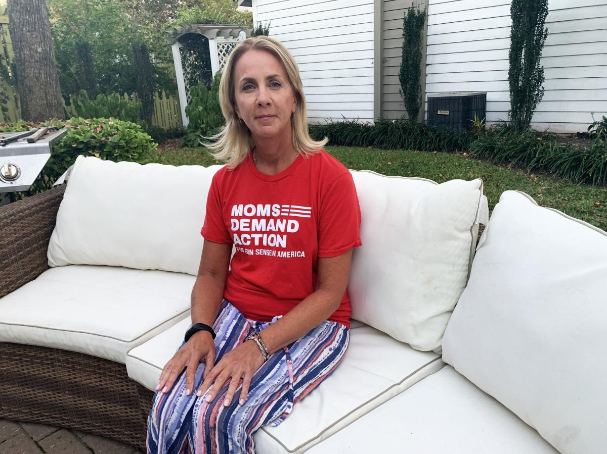 "Karen Havekost, a retired city worker, was able to flee Municipal Building 2 during the mass shooting on May 31. She's featured in a TV ad for Democrat Missy Cotter Smasal, and advocates for gun law reform in Virginia. ""This is the perfect time to say we"