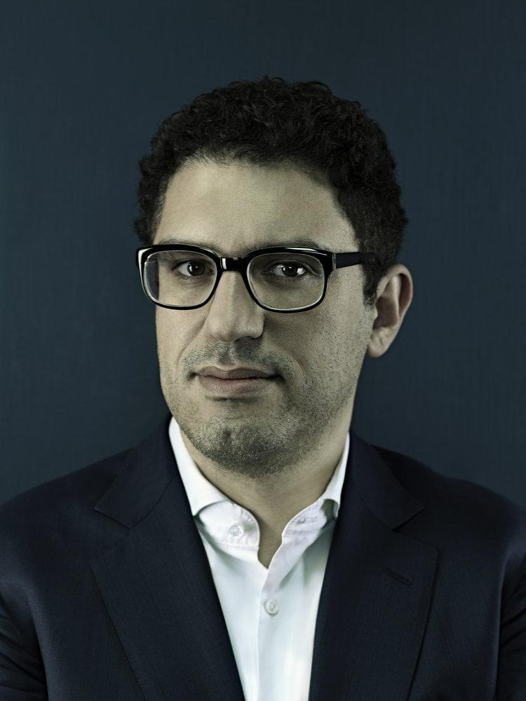 """I love technology and I love gadgets,"" says Sam Esmail, creator, producer, writer and director of Mr. Robot."