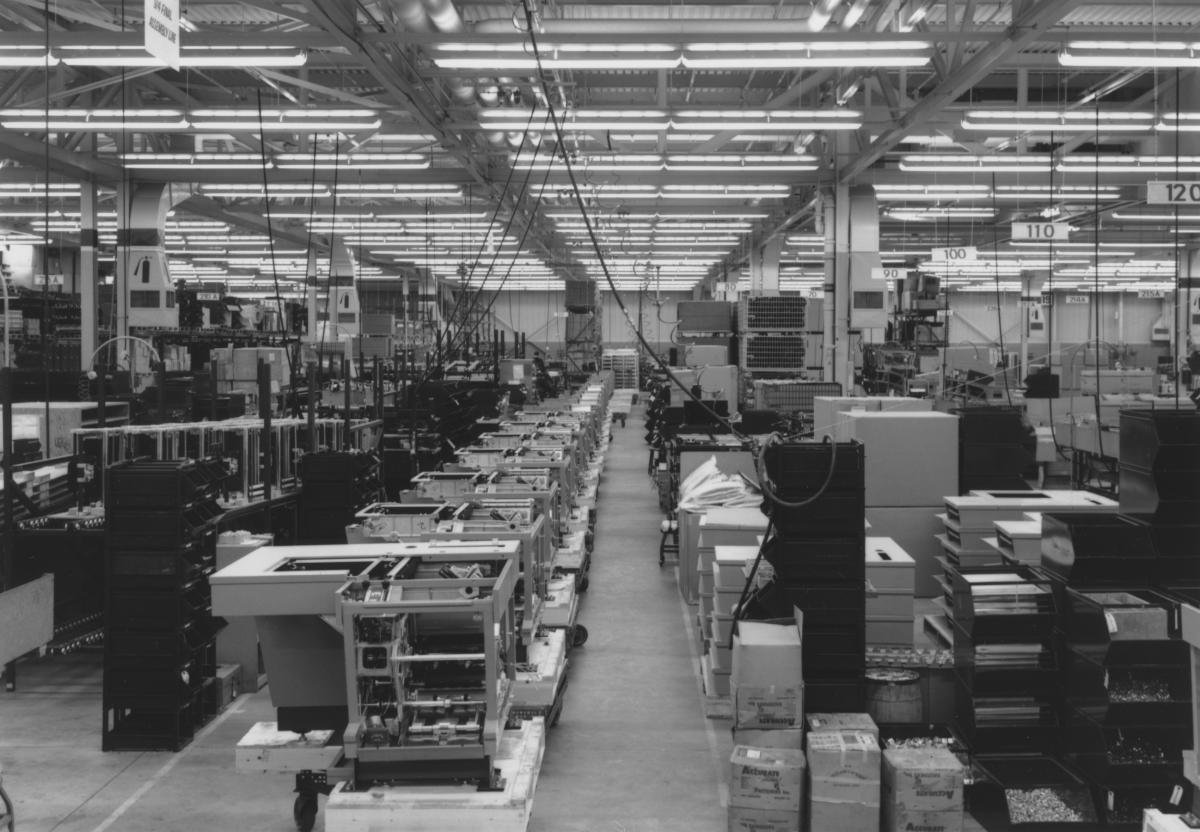 Xerox 914 assembly, October 1962