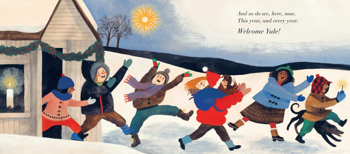 Illustration from The Shortest Day