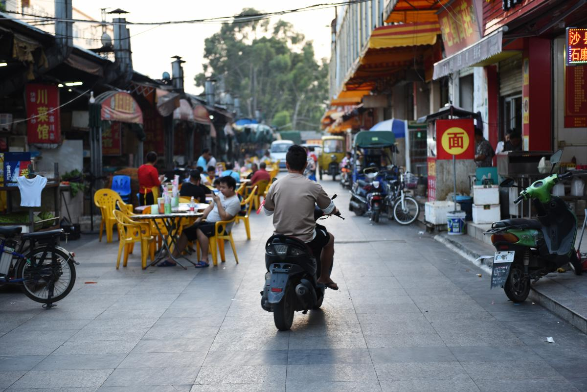 """The southern Chinese city of Dongguan is feeling the effects of the trade war with the U.S. Nicknamed the """"workshop of the world,"""" the city is a sprawling manufacturing hub of more than 8 million people."""