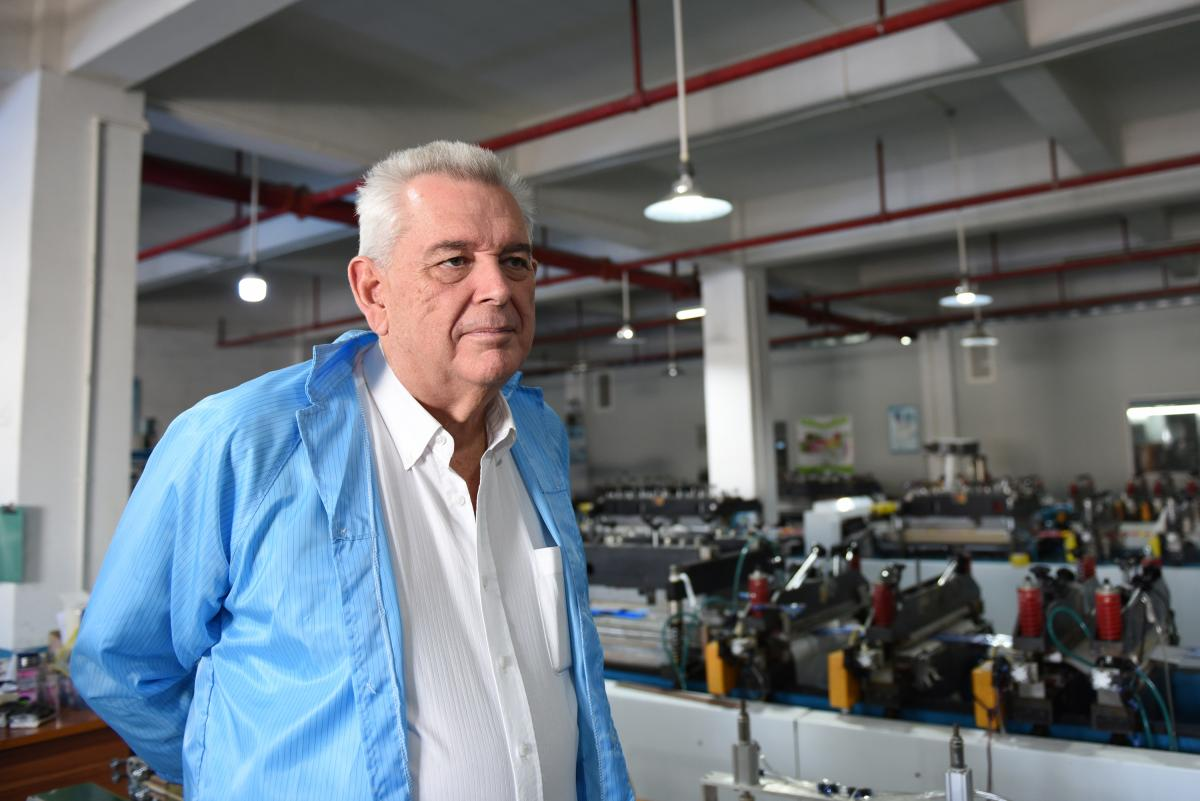 Christopher Devereux is the managing director of Omnidex, which connects foreign companies from all over the world with Chinese factories that can manufacture their products. He recently pulled most of his clients out of the Fangjie factory and moved thei