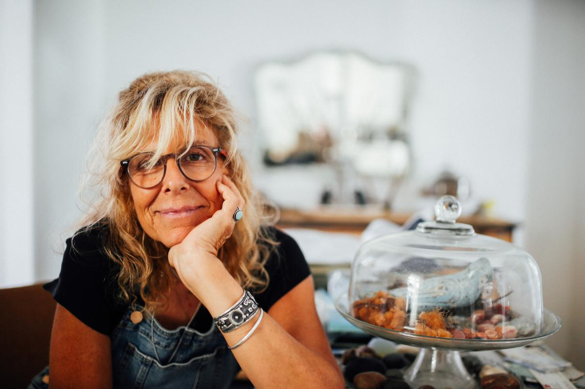 Lori Guadagno keeps her brother's memory alive with his objects scattered throughout her home.