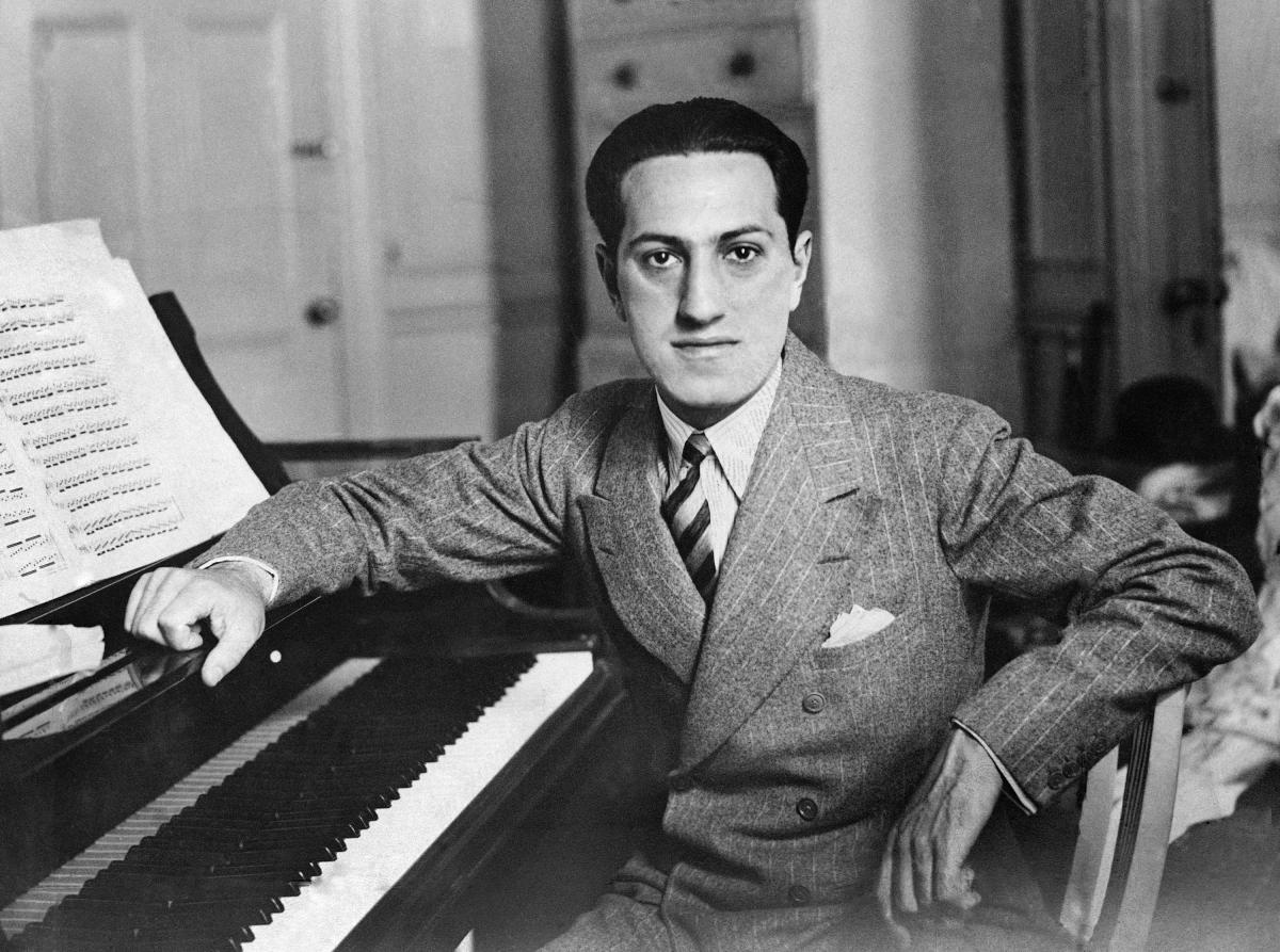 Composer George Gershwin, pictured in July 1937.