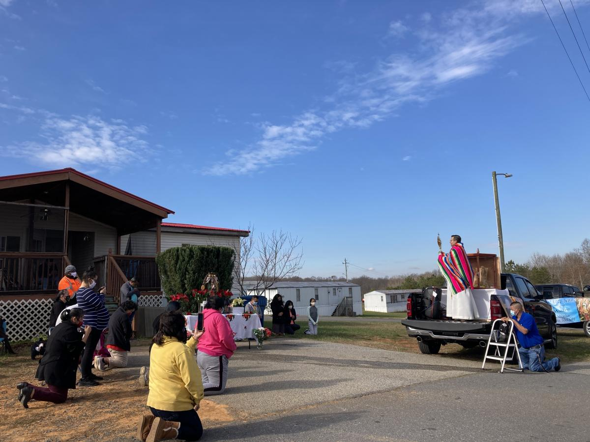 St. Julia Catholic Church adapted their celebration for Our Lady of Guadalupe to be COVID-19 safe.