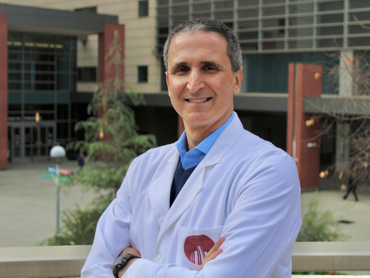 Brad Spellberg, chief medical officer at LAC + USC, says it will take years before safety-net hospitals' budgets balance out.