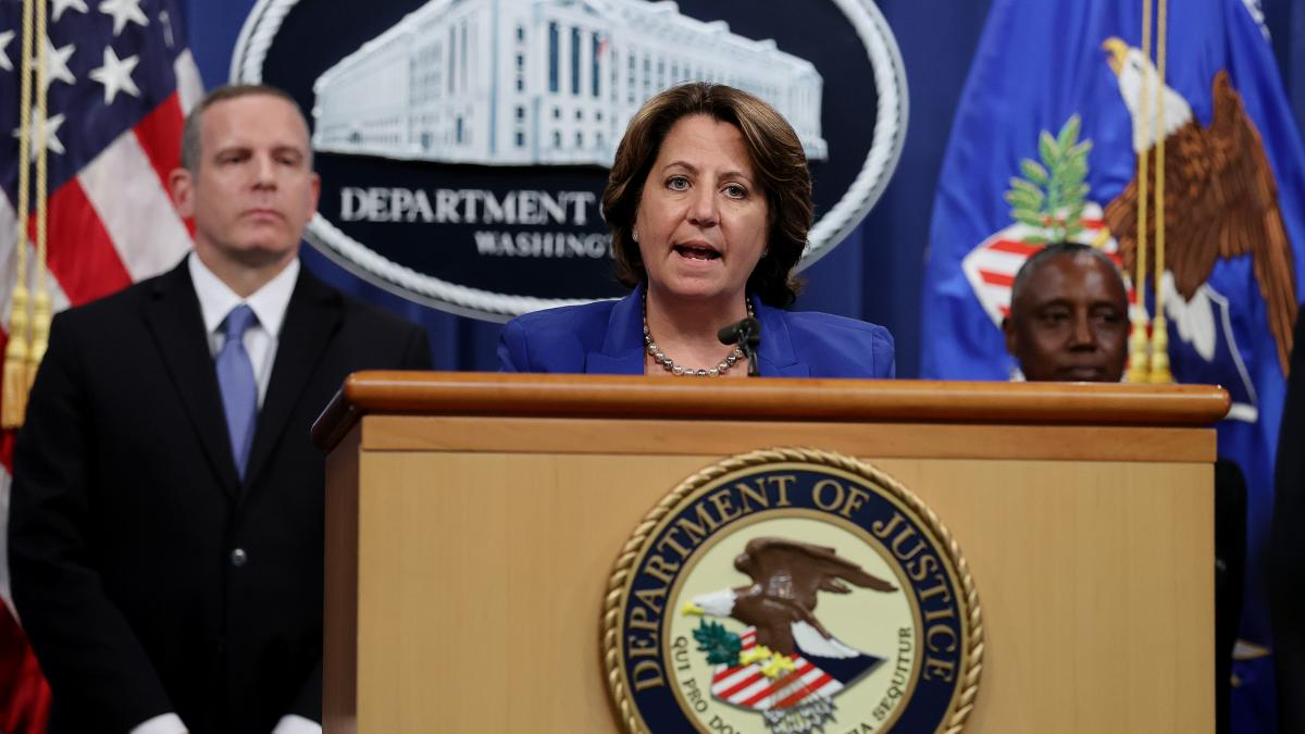 Deputy U.S. Attorney General Lisa Monaco, speaking on June 7, announces that the FBI has recovered most of the $4.4 million ransom that Colonial Pipeline paid to ransomware attackers last month. The attackers are believed to be based in Russia.