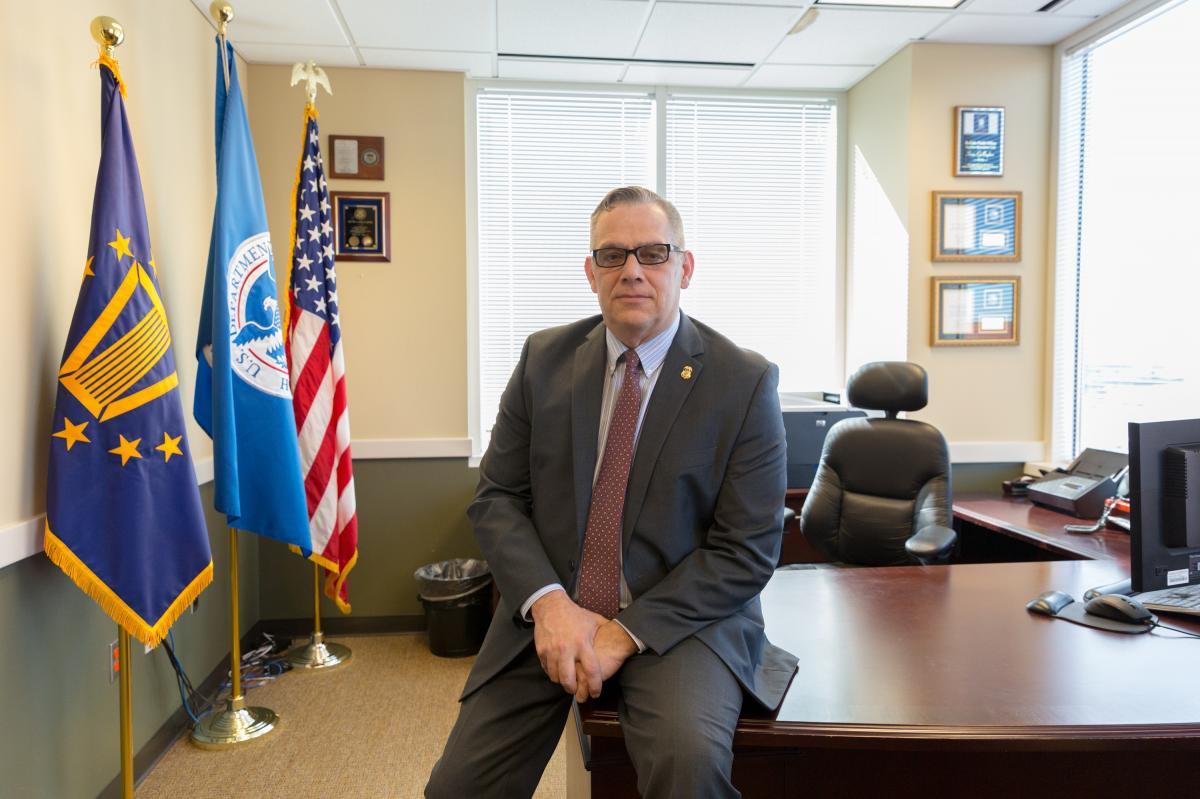 Sean Gallagher directs the ICE field office in Atlanta. Gallagher says criminals are his top priority, but his officers can arrest any undocumented immigrants they encounter.