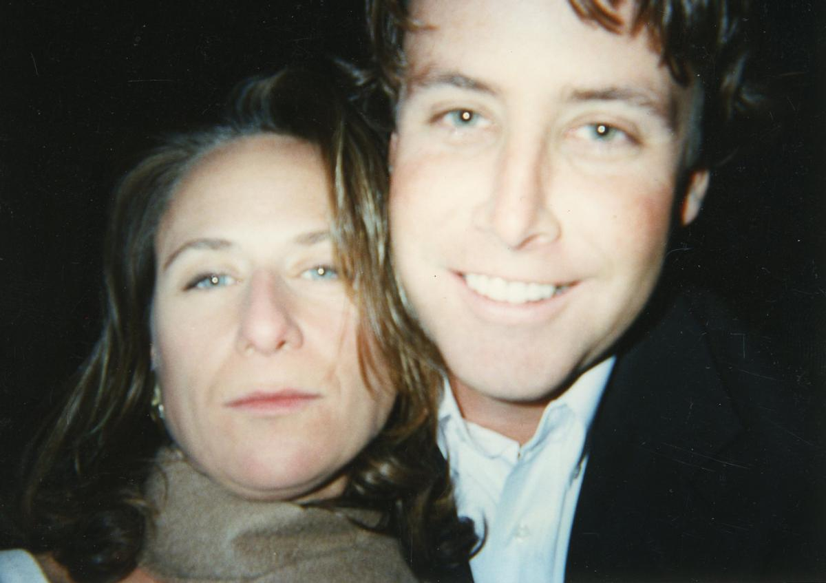 Lauren and Jack Grandcolas in a family photo. The first few months after Lauren's death were a blur for Jack.