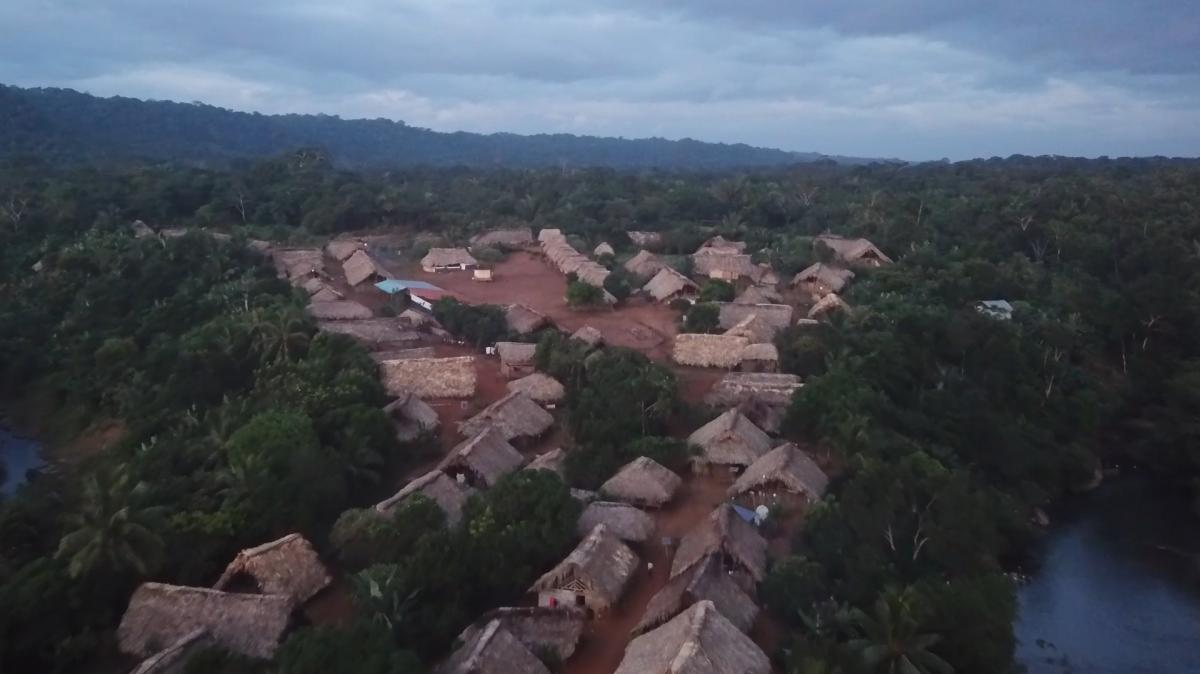 With support from the New York-based Rainforest Foundation US, Carlos Doviaza has mapped indigenous communities in Panama using drone video.