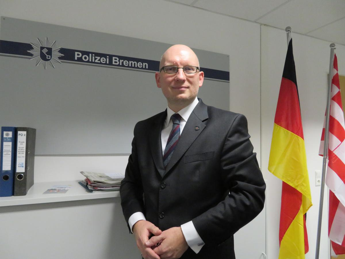 "Daniel Heinke, a police official in Bremen, works with the German government to prosecute and deradicalize German citizens who joined the Islamic State. ""It's not only a legal obligation but a moral obligation,"" he says, to repatriate German children who'"