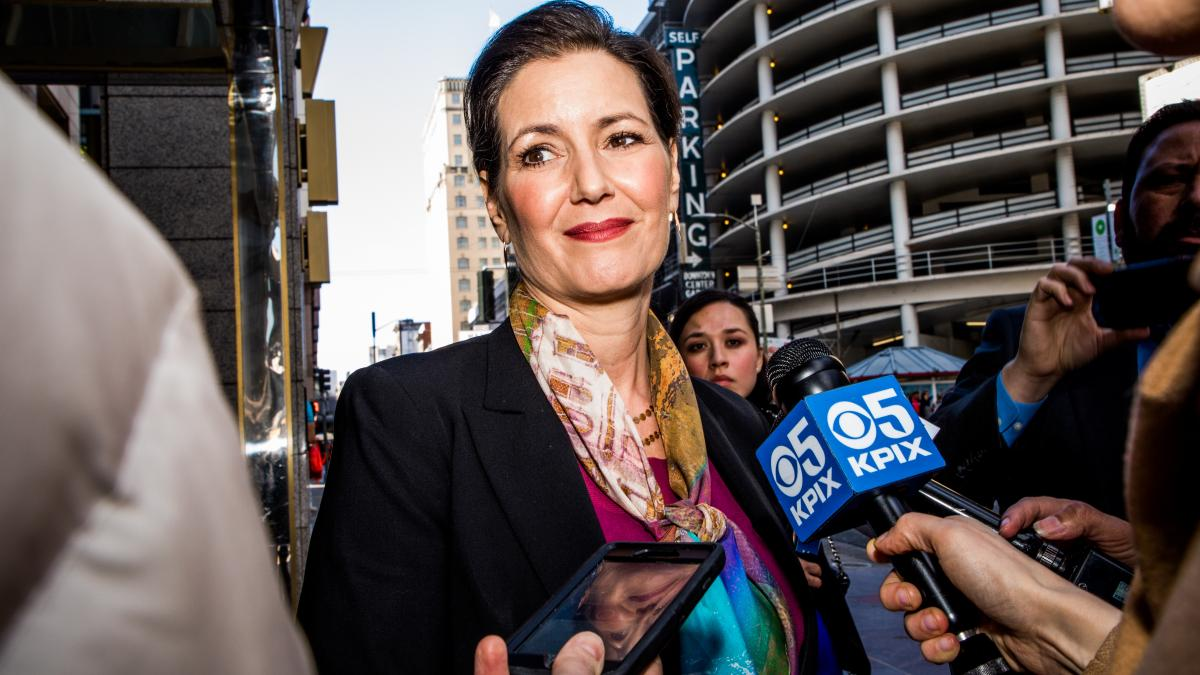 """""""I'm proud to live in a country where everyone can criticize elected officials,"""" said Oakland Mayor Libby Schaaf, after President Trump said her actions were """"a disgrace."""""""