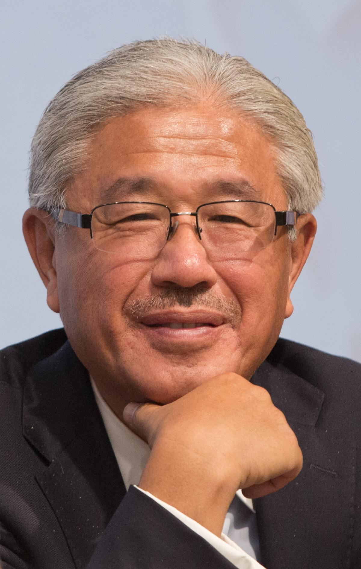 Dr. Victor Dzau, president of the National Academy of Medicine, attends the 2015 World Health Summit in Berlin.