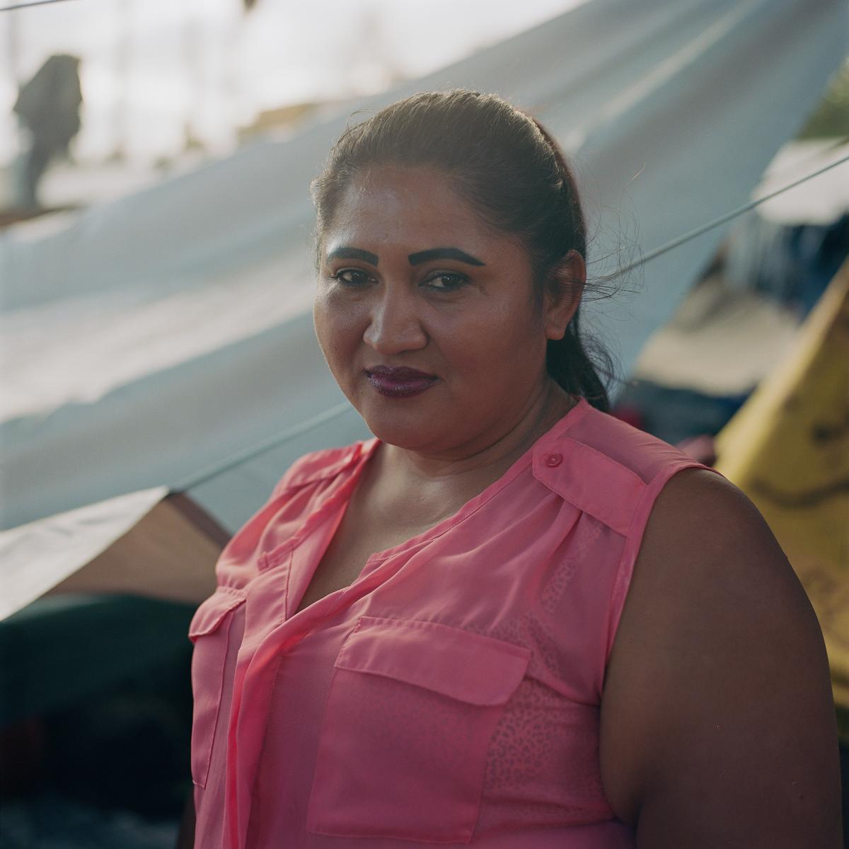 """He would always mess my life up, making demands and threatening me if I would not give back the photos I would take of myself all bruised up after his beatings,"" Arita said. ""I did this thinking if and when I would ask for asylum in the U.S., I will show"