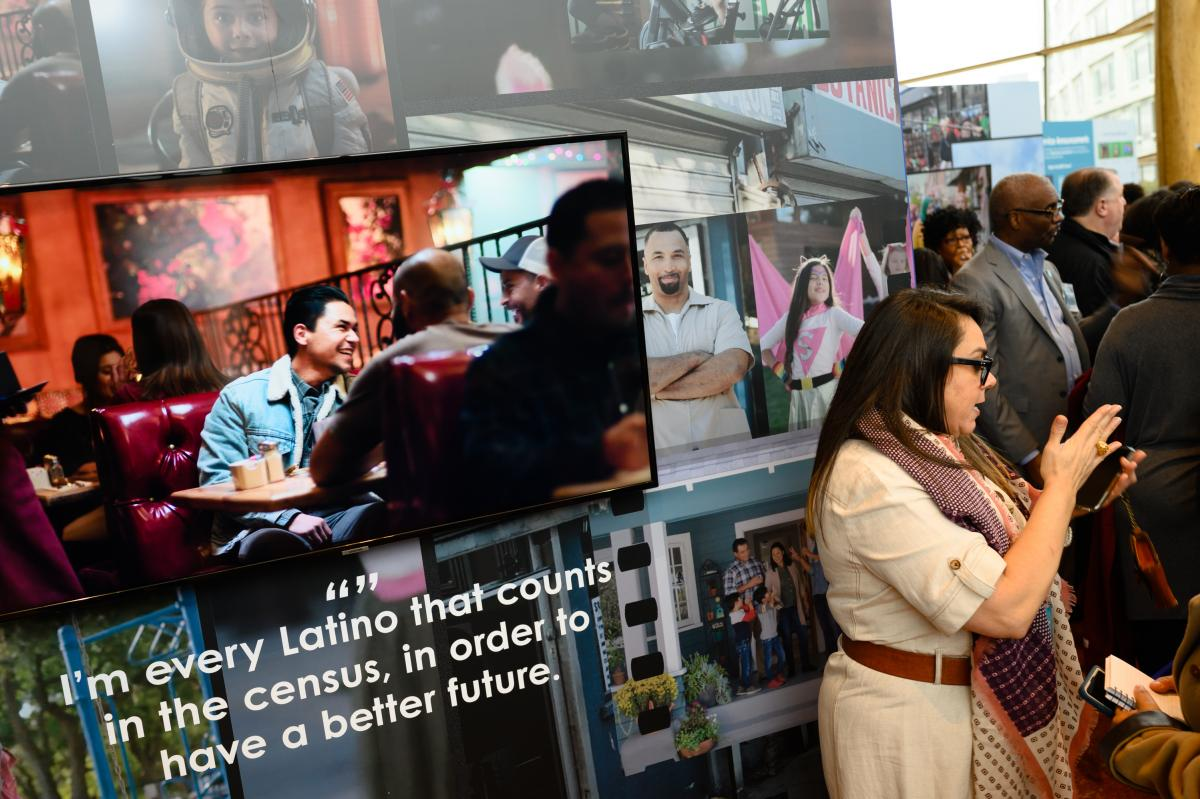 To encourage participation in the 2020 census, the Census Bureau developed a marketing campaign tailored to historically undercounted groups, including Latinos. Some ads emphasized the confidentiality of census responses to try to assuage lingering concer