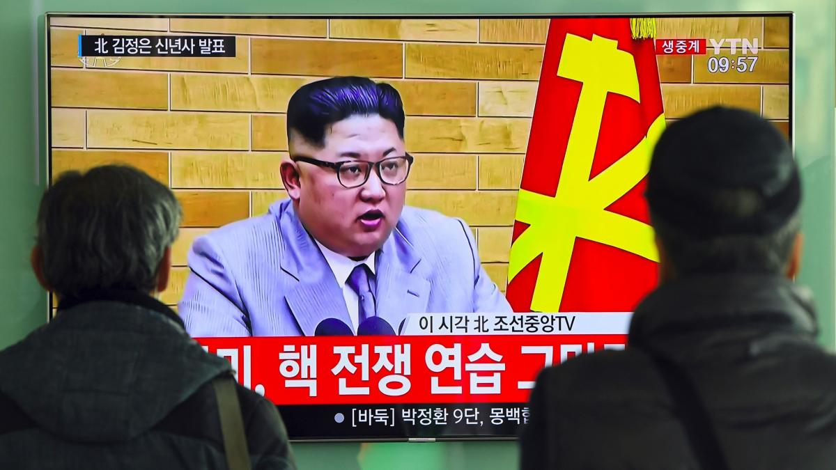 In North Korean leader Kim Jong Un's New Year's address, he talked about his country's progress as a nuclear power.