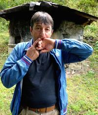 Halil Cindik, head of the Kuskoy Bird Language Association, demonstrates his technique for whistling Turkish words and phrases. The piercing tones can be heard a mile or more away, depending on conditions. Cindik says an annual festival is helping to keep