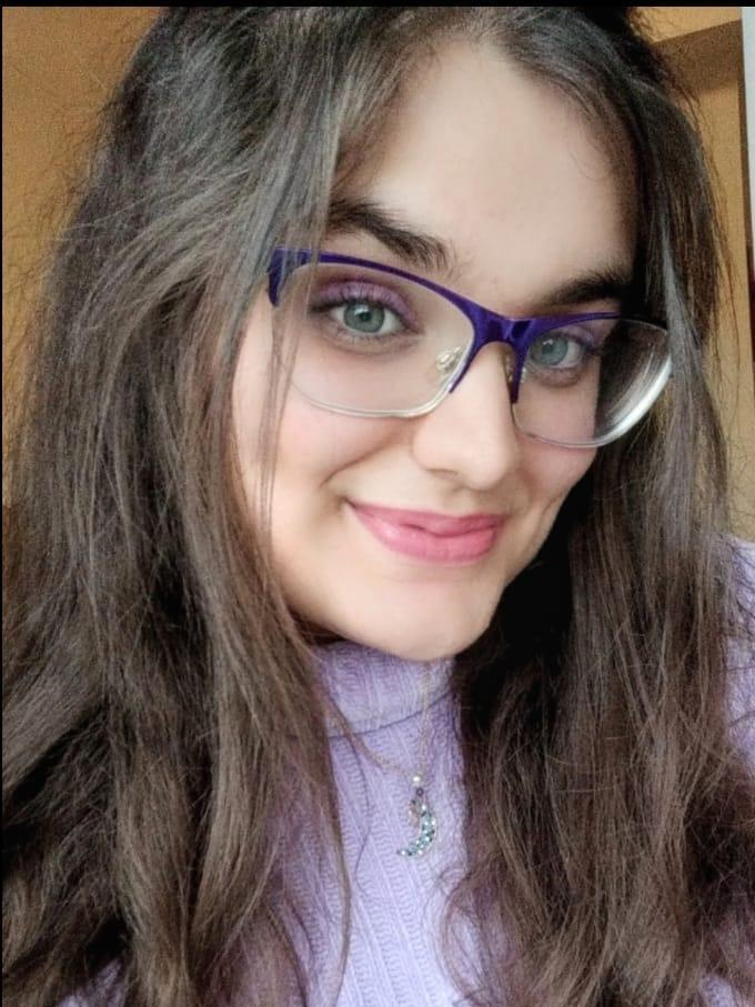 """Diza Saxena, 16, lived in Mumbai when she wrote her entries in 2019 — but moved to Dubai in 2020. Her contributions to the book discussed her wish to be """"cute, cool and popular"""" at her school in Mumbai. Saxena says girls at her new school aspire to the"""