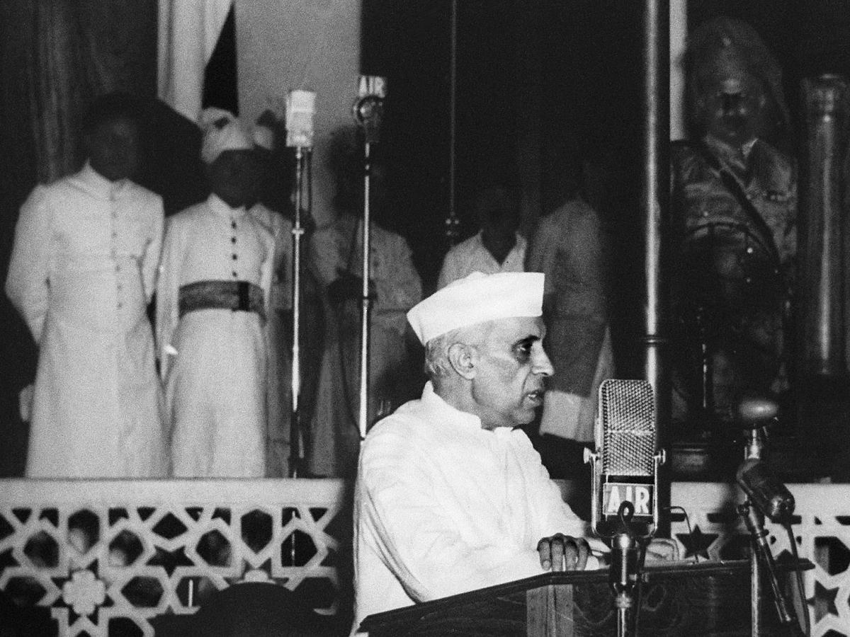 nehru tryst with destiny Tryst with destiny was a speech delivered by jawaharlal nehru, the first prime minister of independent india, to the indian constituent assembly in the.