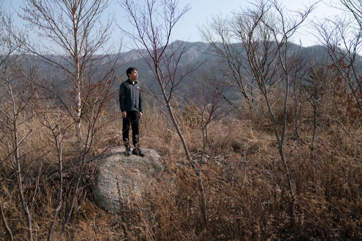Jung Suyoung, 37, a taxonomy expert and researcher at the DMZ Botanical Garden, fears that digging up land mines may hurt the area's plant life.