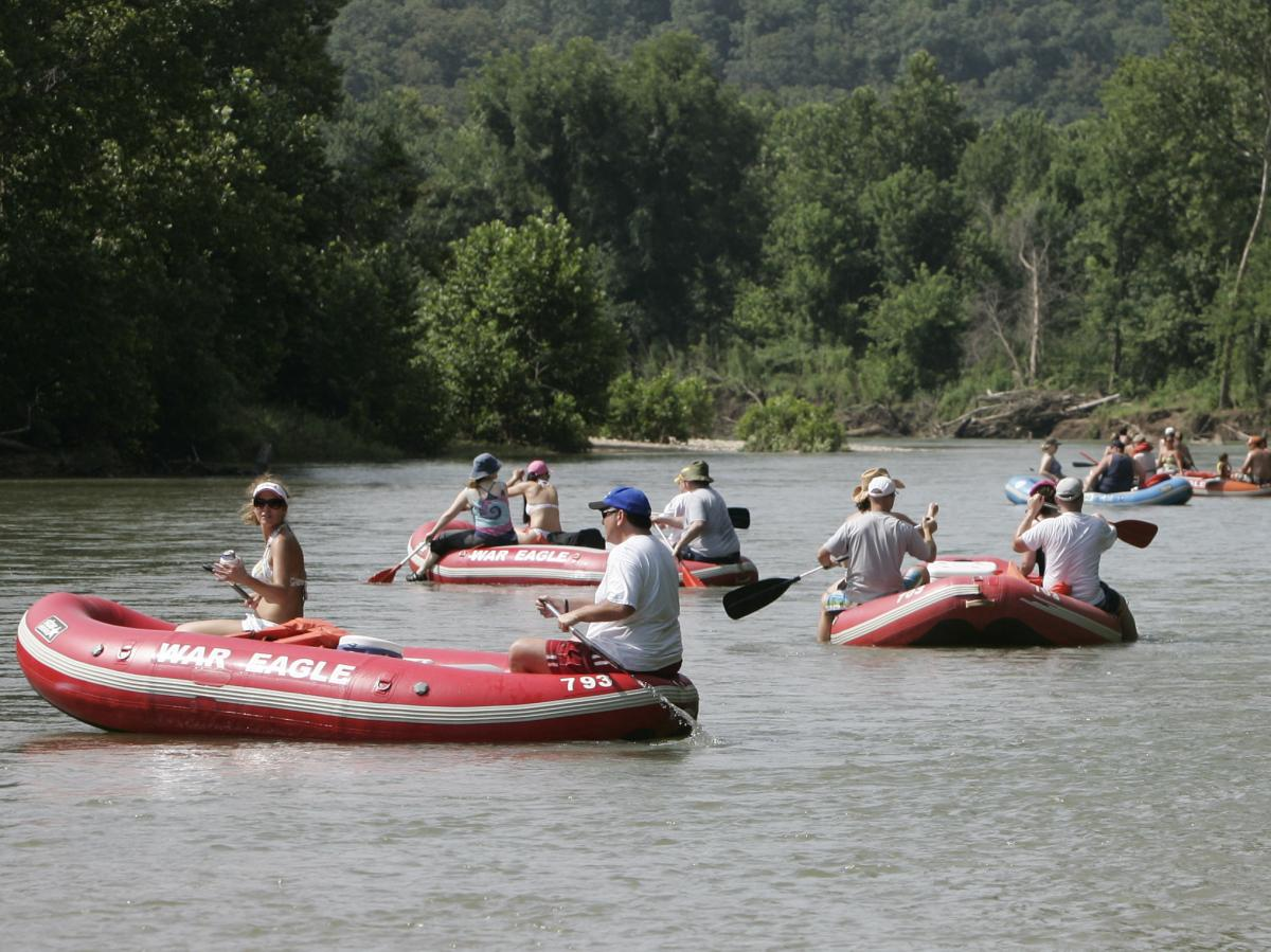 The Illinois River is a popular with both locals and tourists in Oklahoma. But environmentalists say pollution has significantly damaged the water quality over the previous decades, turning once-clear streams and lakes murky.