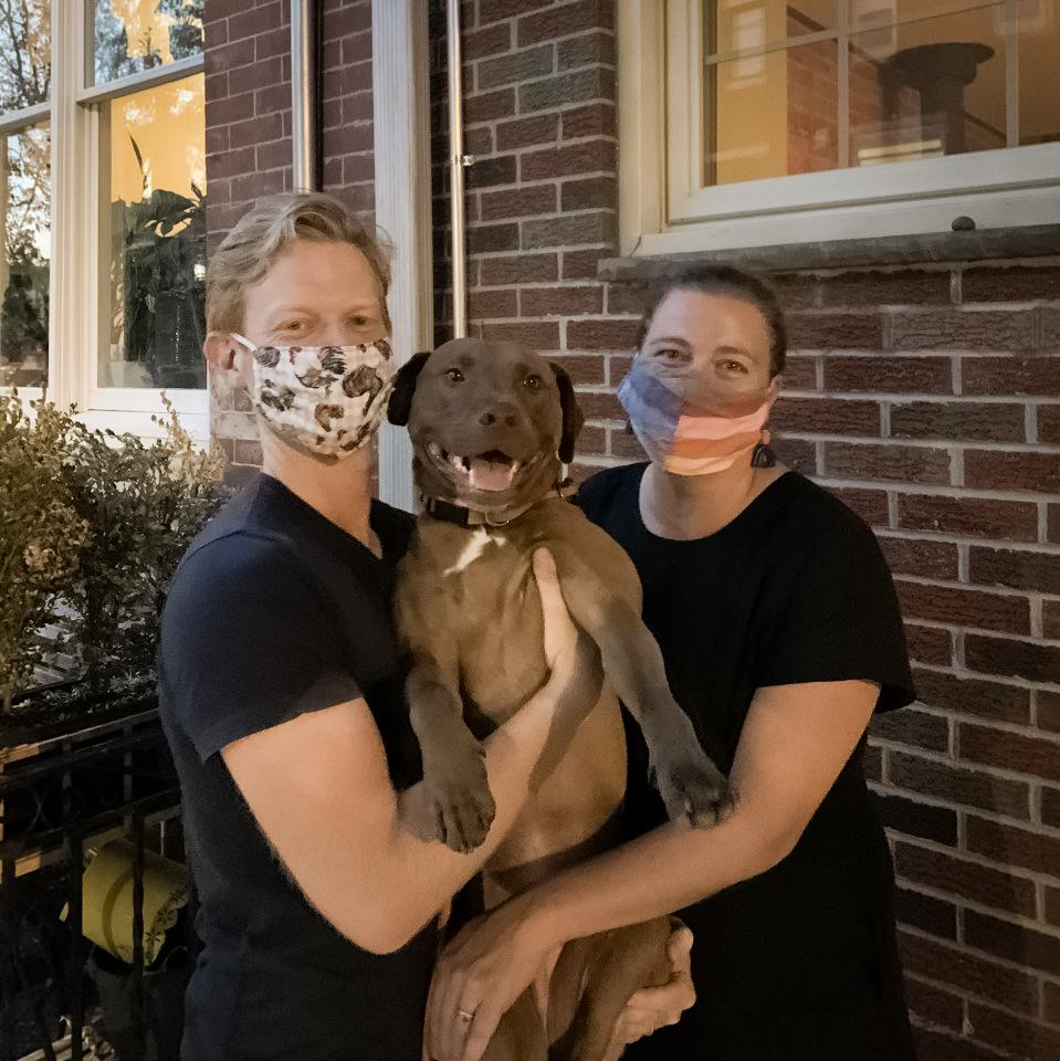 Caleb Furnas tripped over the dog leash and sustained a concussion while strict stay-at-home orders were in effect in Pennsylvania. His wife, Tess Wilkinson-Ryan, says she was so confused by the mixed messages from various public officials that she didn't