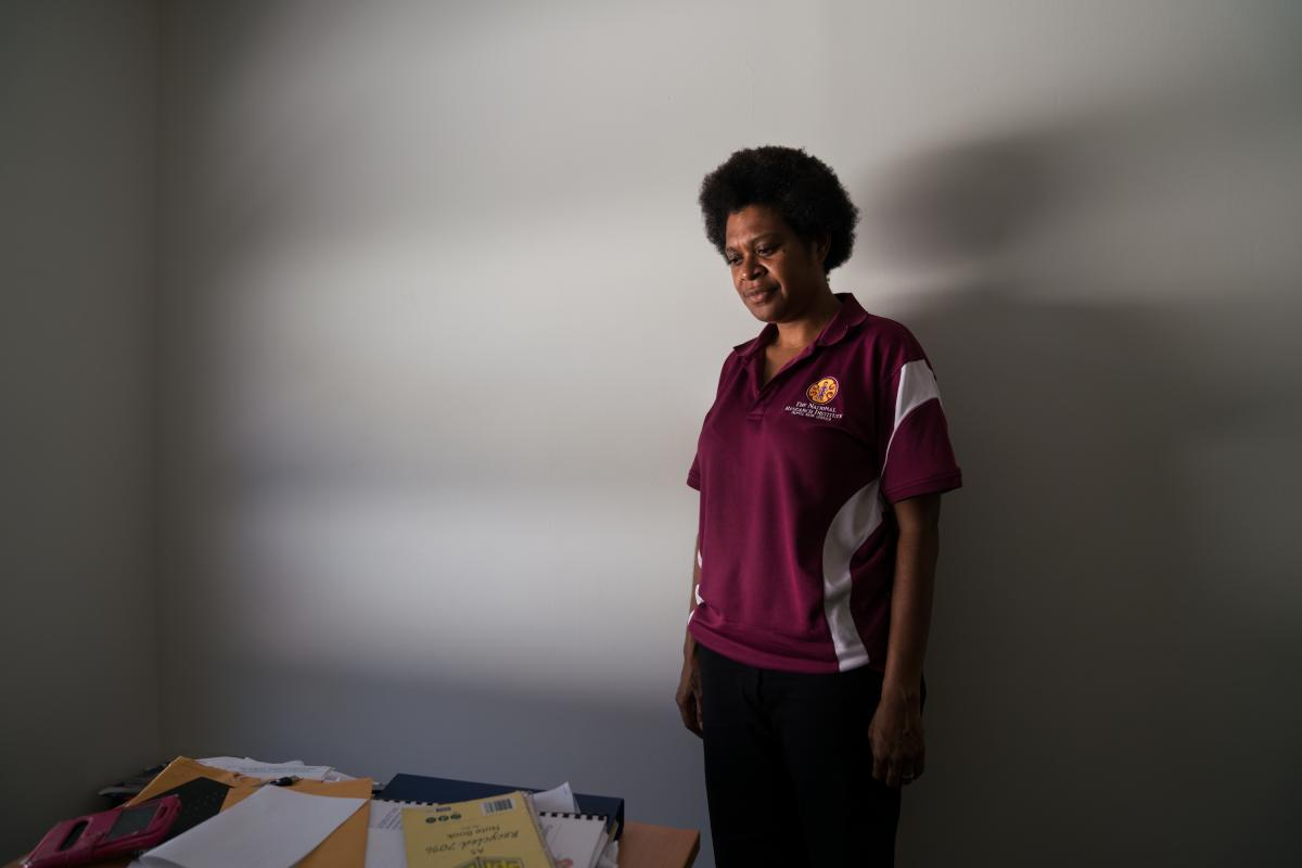"""Fiona Hukula is a senior researcher for the National Research Institute in Papua New Guinea. """"The belief in sorcery is quite widespread in this country. But the violence we are seeing is not happening everywhere,"""" Hukula says. """"Some provinces have had way"""