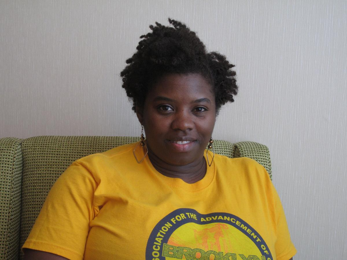 L. Joy Williams, president of the Brooklyn NAACP.